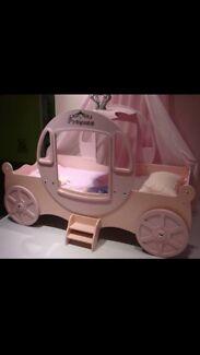 Princess carriage bed  Loganholme Logan Area Preview