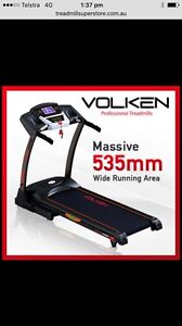 Volken Xtreme extra wide treadmill Picnic Point Bankstown Area Preview