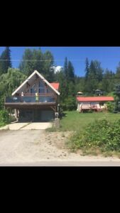 North Shuswap lake front room for rent, bye weekly or monthly