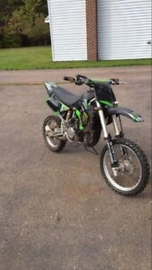 2008 kx85 with papers