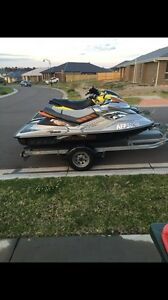 Jetski x 2 Seadoo supercharged plus new double trailer Thornton Maitland Area Preview