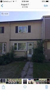 Two bedroom townhouse in St. Norbert for rent