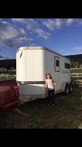 2 horse straighthaul horse trailer