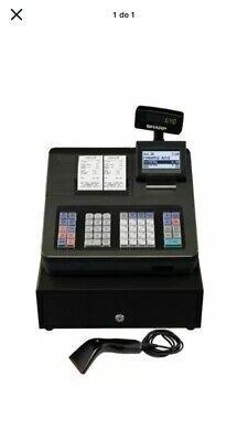 Sharp Xe-a507 Bar Code Scanning Dual Receipt Cash Register Xea507