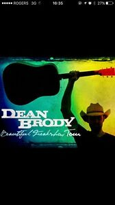 Dean Brody tickets! Kingston Friday April 28th!