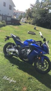 Looking to trade 2015 Honda CBR 650F for 8th gen Civic