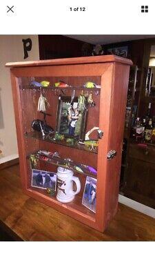 Vintage Fishing Lure/reel Display Case!!!