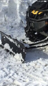 KIMPEX PLOW With mount for CAN AM G2