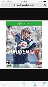 Madden 17 Xbox one ***will trade
