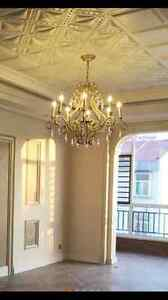 Ceiling light chandelier antique vintage 6 heads Chatswood Willoughby Area Preview