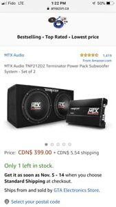 2 12s subs and amp mtx