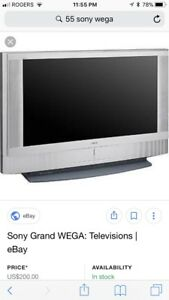 """Looking for someone to fix my old 55"""" wega tv"""