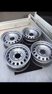 Toyota hilux 17inch steelies Ryde Ryde Area Preview