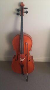 3/4 sized cello