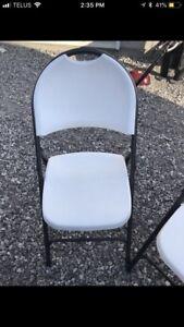 6 Fold Up Chairs