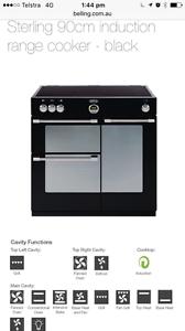 $1,000 OFF - Belling 90cm Black Oven & matching Rangehood Harrison Gungahlin Area Preview