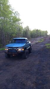 Lifted stepside GMC/Chevy REDUCED