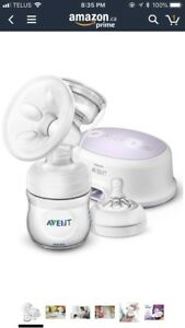 Breast pump- electric, single from Avent