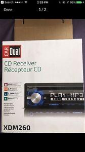 DUAL CD RECEIVER