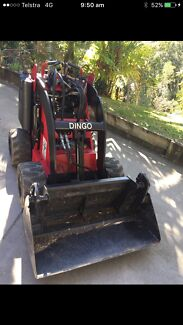 Mini loader hire from $175 per day