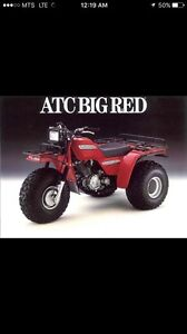 LOOKING FOR HONDA BIG REDS
