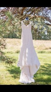 Maggie Sottero Chesney Wedding Dress & Vail - no alterations