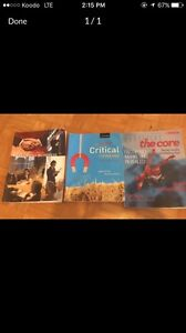 College and university text books