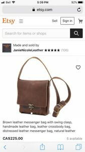 Brand new genuine leather purse