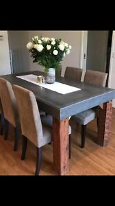 Concrete tables made to order Rowville Knox Area Preview