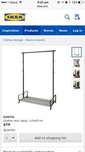 Clothes Rack Greenwich Lane Cove Area Preview
