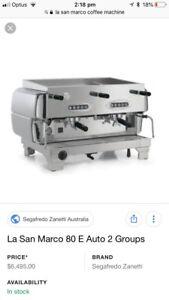 Cafe series coffee machine gumtree australia free local classifieds la san marco coffee machine boronia knox area preview fandeluxe Images