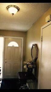 Brampton basement room for rent in all female townhouse