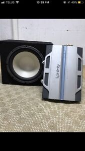 """Infinity 12"""" in box with amp"""