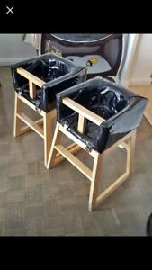 Kids high chairs $45/per