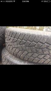 Toyo tires 255 70 r17 pair