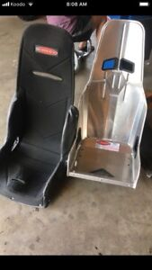 Kirkey Racing seat and cover