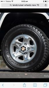 Wanted , landcruiser gxl wheels Armidale Armidale City Preview