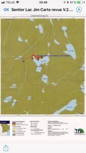 Terrain de villégiature Lac Jim  Zec Trinité