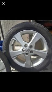 Toyota mags and wonter tires