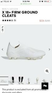 X 18+ Firm Ground Cleats