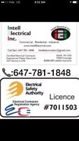 Certified Master electrician in GTA -call 647 781 1848