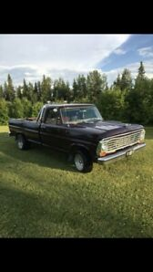 1967 Ford antique pick up