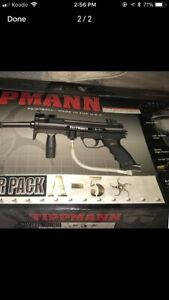 Tippman A5 with response trigger