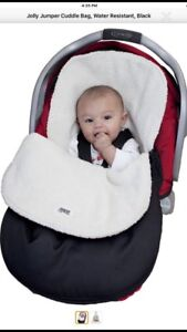 BRAND NEW: Jolly jumper cuddle bag for car seat and stroller