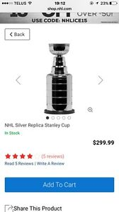 Lifesize Stanley Cup Replica