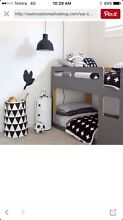 My place single bunk beds purchased from Domayne Branxton Singleton Area Preview