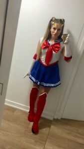 Sailor moon Halloween costume for woman or girl