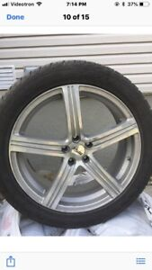 20 inch rims with tires (4)