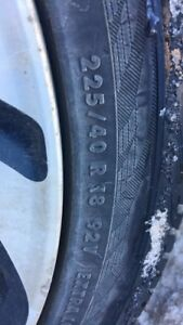 Looking for winter tires  225 / 40 / R18