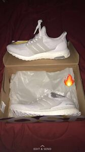 Ultra boost all white 3.0s